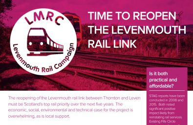 Levenmouth rail campaign briefing image